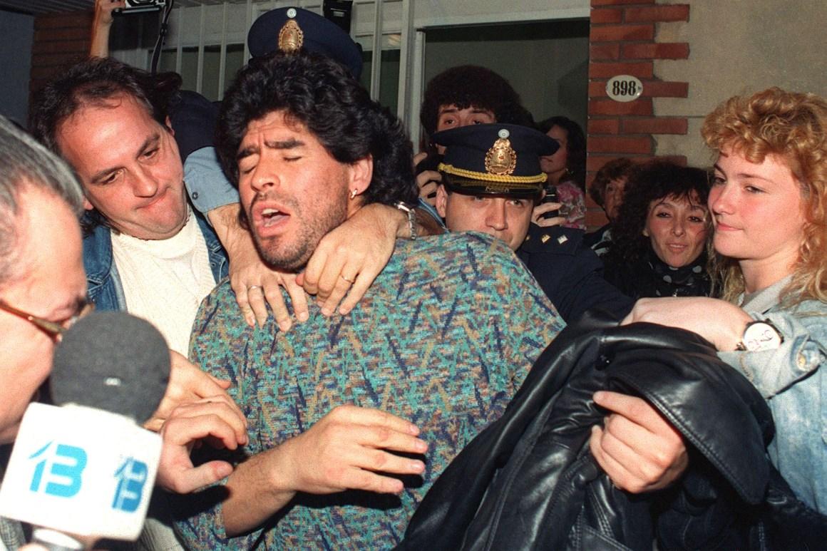 How cocaine, fame and the Mafia destroyed Diego Maradona