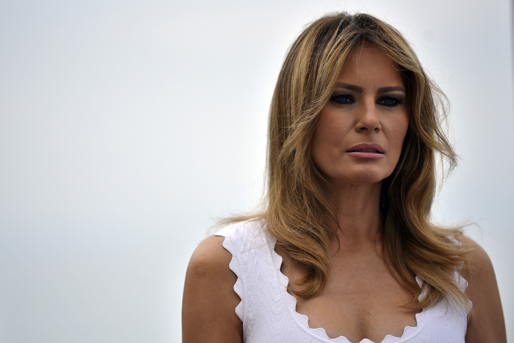 In praise of Melania Trump, the first lady often panned by media