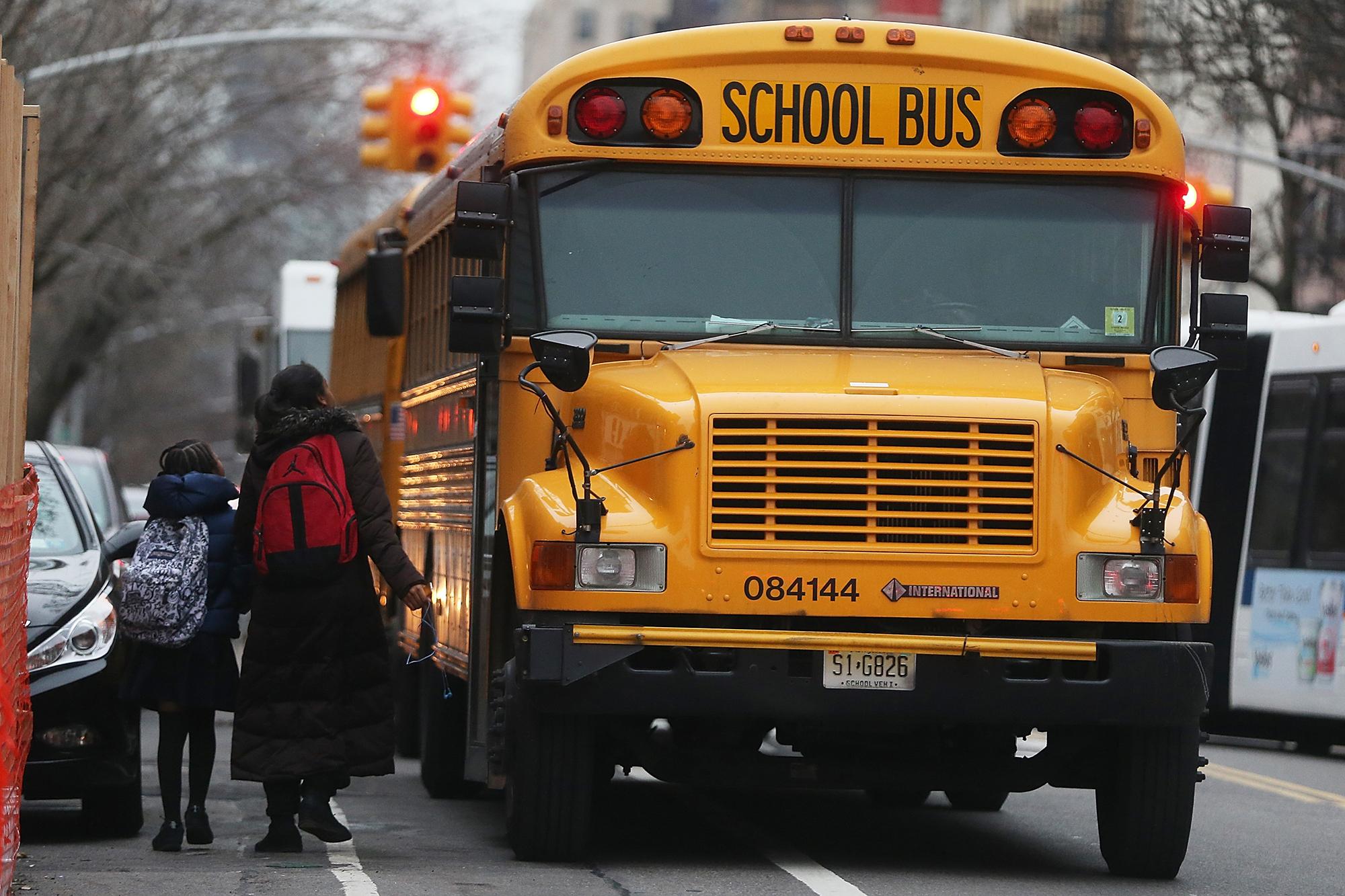 Schools buses