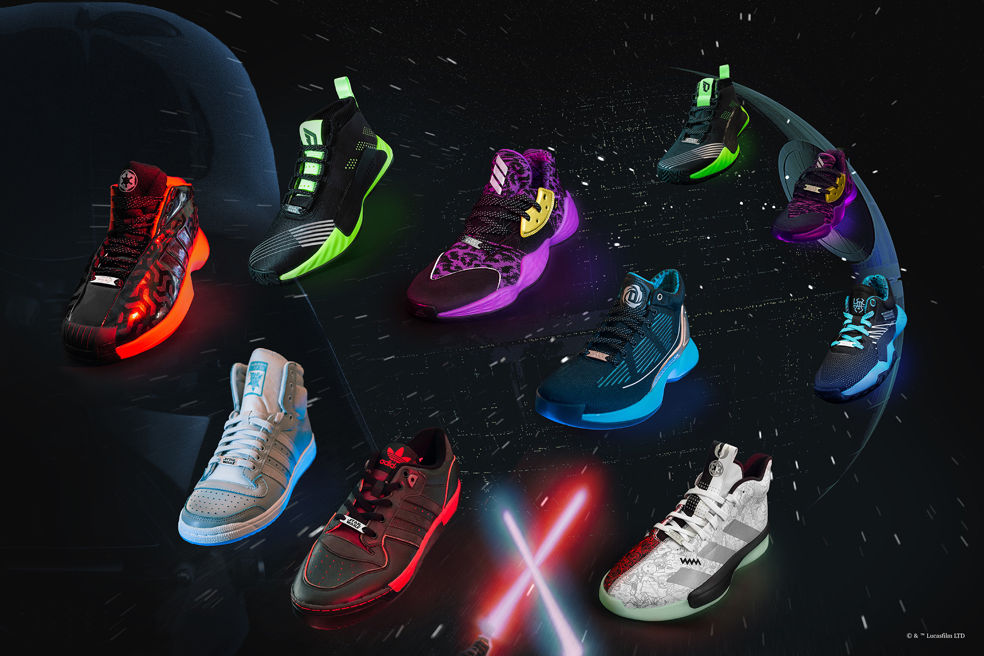 adidas boost star wars