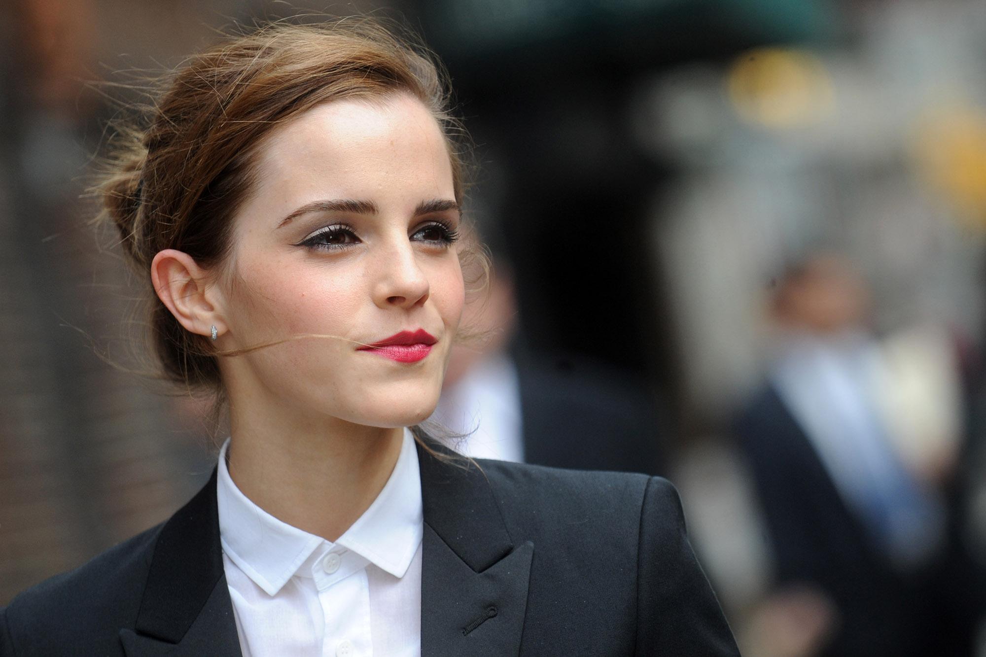 Emma Watson I M Not Single I M Self Partnered