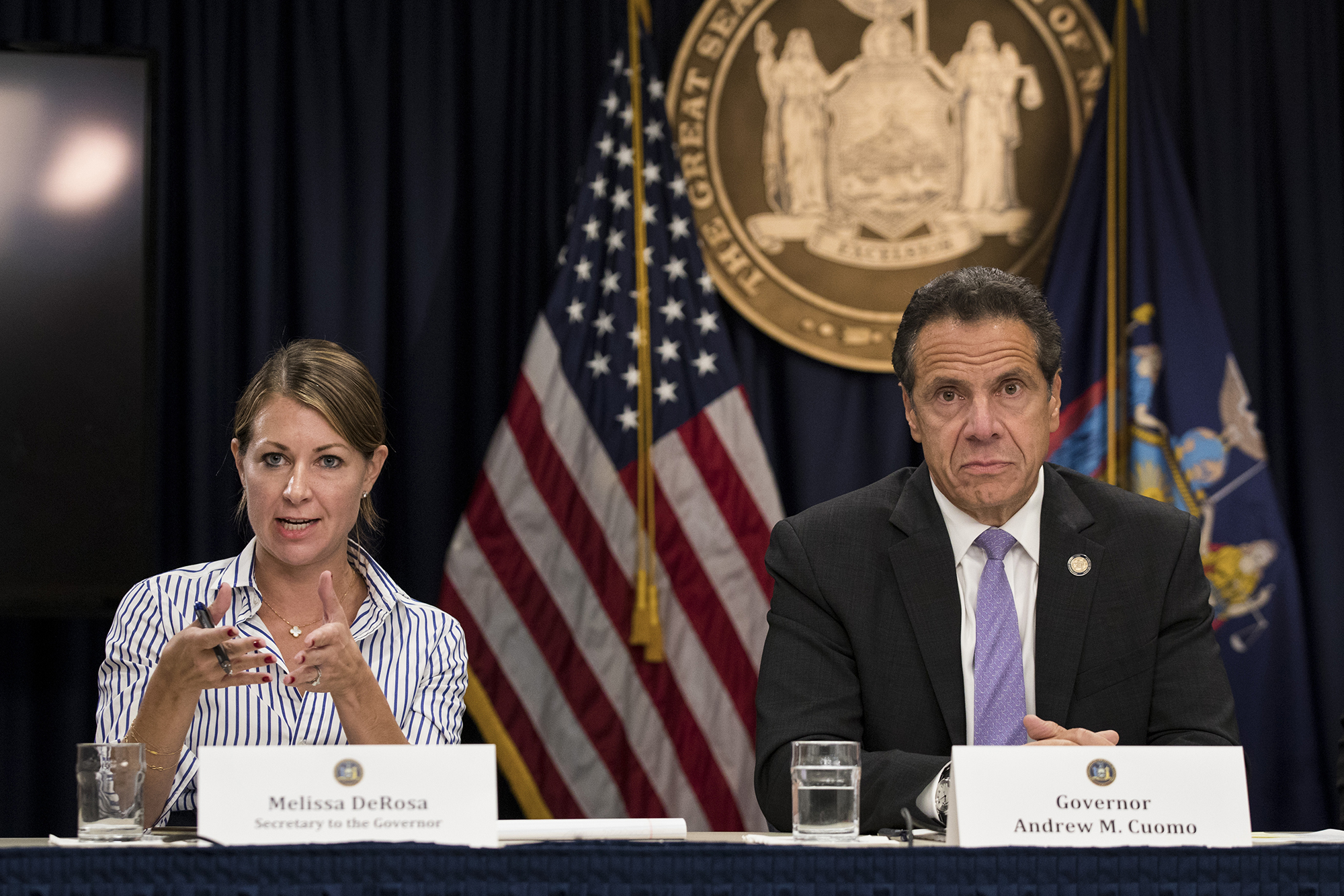 Cuomo S Top Aide Melissa Derosa Makes More Than Her Boss