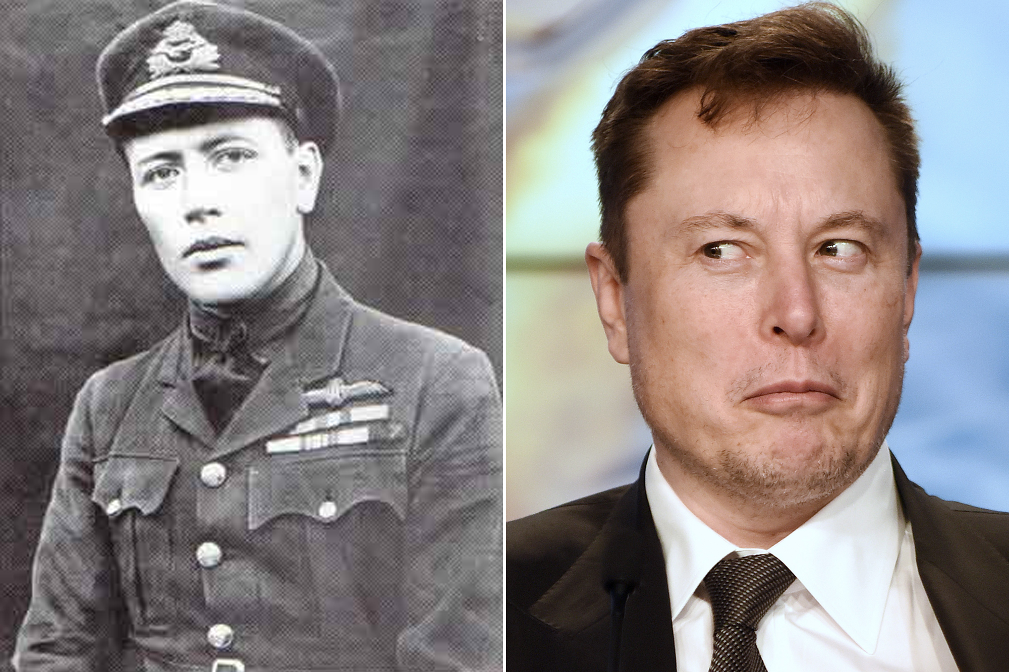 Conspiracy Theorists Think This Wwi Era Photo Is Of Elon Musk