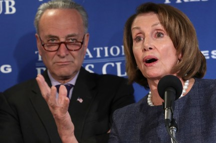 Senate Minority Leader Charles Schumer and House Minority Leader Nancy Pelosi