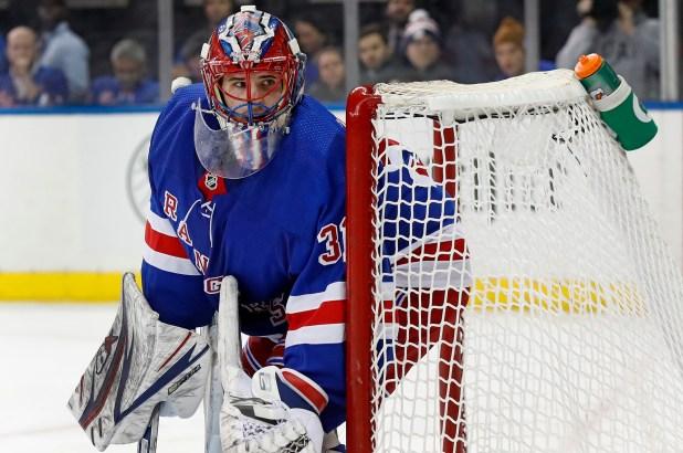 Rangers Igor  Shesterkin NHL
