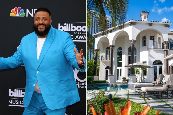 All he does is win: DJ Khaled offloaded his massive South Florida manse for $4.87 million.