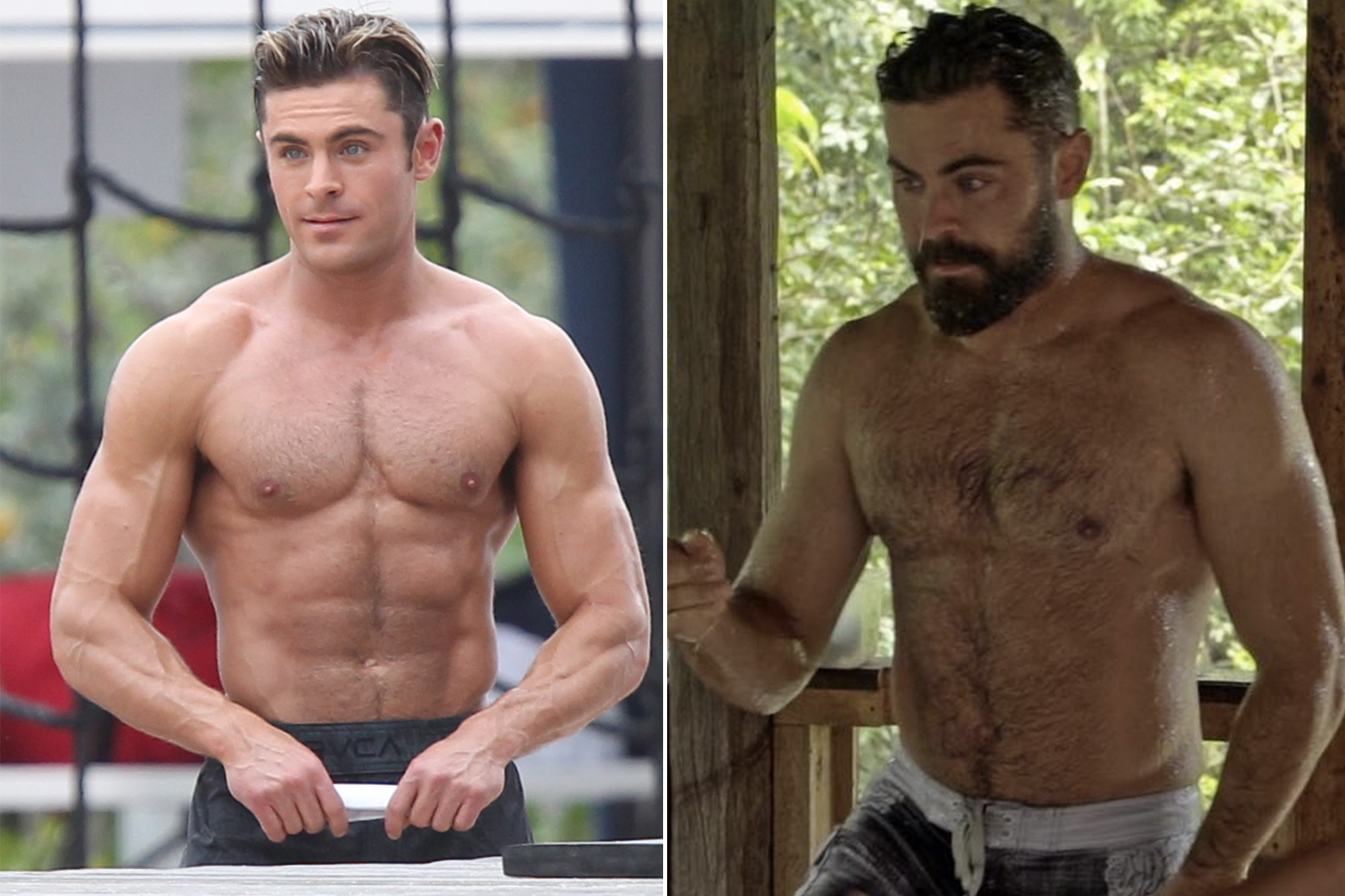 See Zac Efron S Dad Bod Transformation On Netflix Show Down To Earth