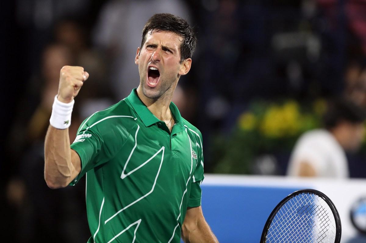 Novak Djokovic Confirms He Ll Play In 2020 Us Open