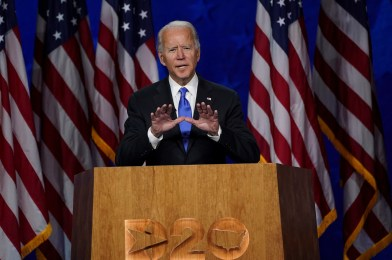 Joe Biden officially accepts Democratic nomination for president at DNC