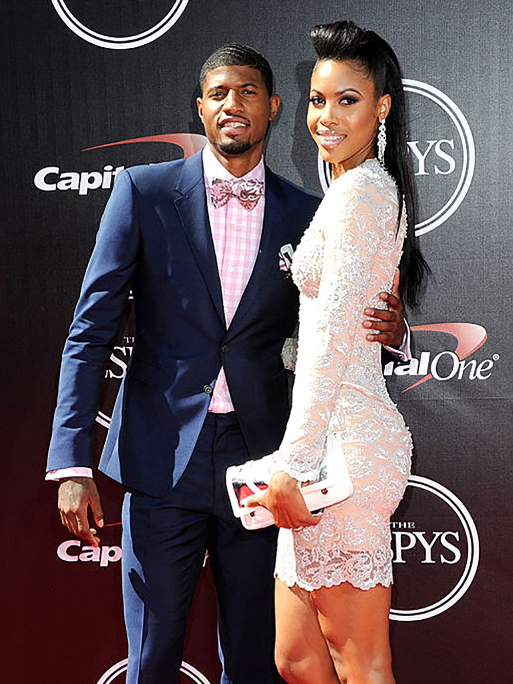 Paul George Daniela Rajic : george, daniela, rajic, B—h:', Triangle, Behind, George's, Bottom, Playoff, Moment