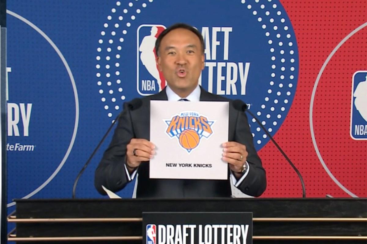 NBA Draft Lottery: Knicks get the No. 8 pick