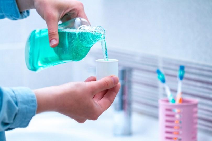 mouthwash feature