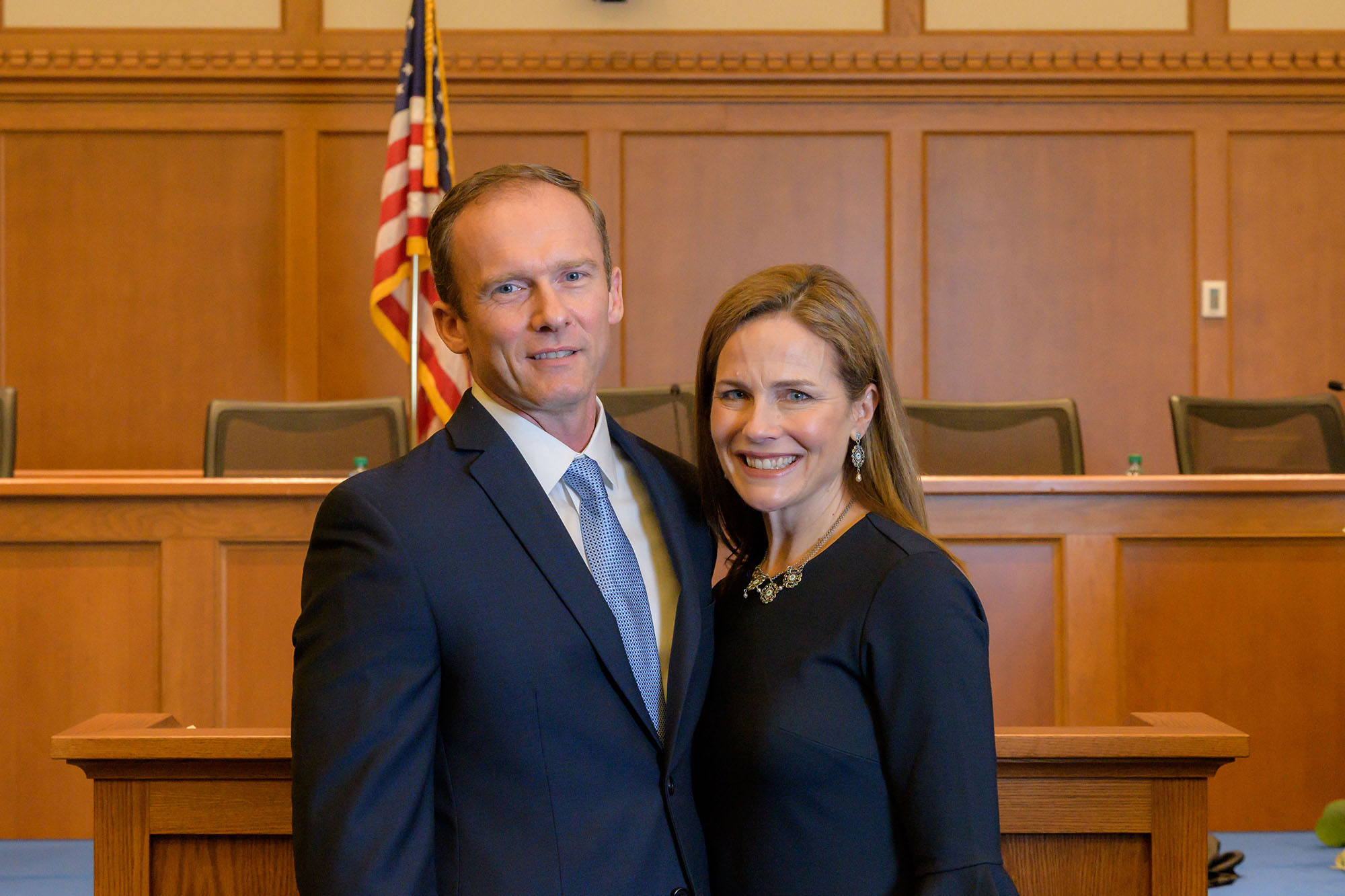 Amy Coney Barrett Family Leave Home Ahead Of Scotus Announcement