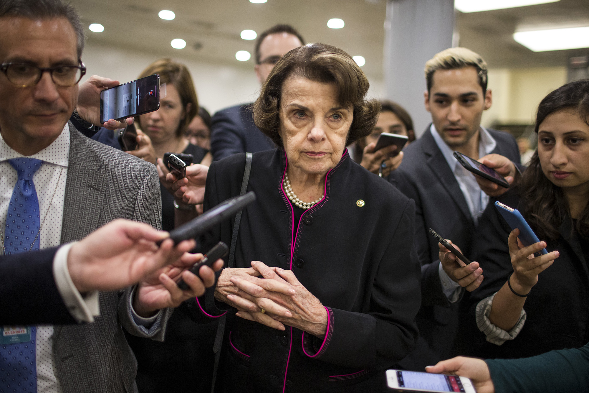democrats worry feinstein can t handle upcoming scotus battle report democrats worry feinstein can t handle