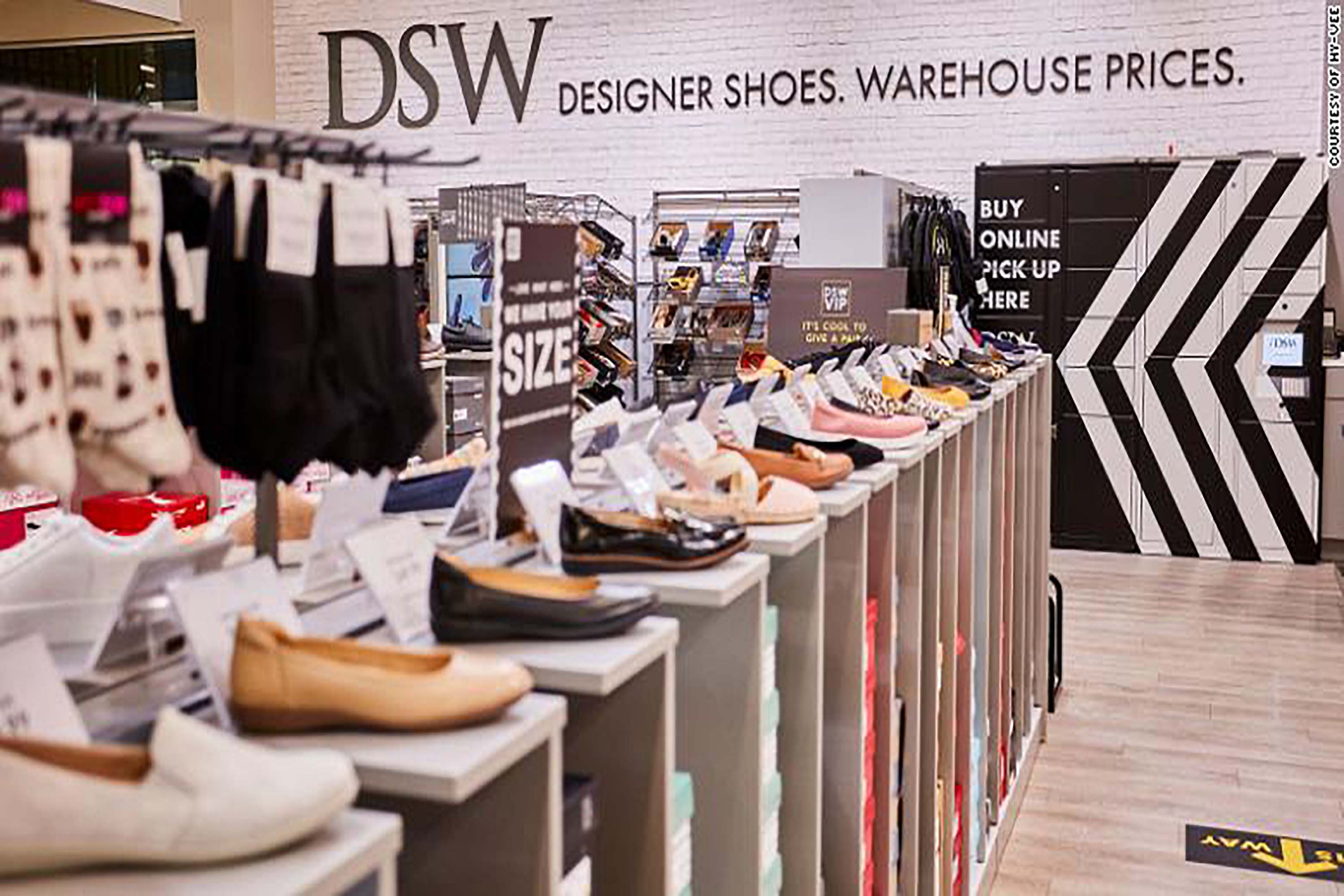 opening shoe stores inside supermarkets