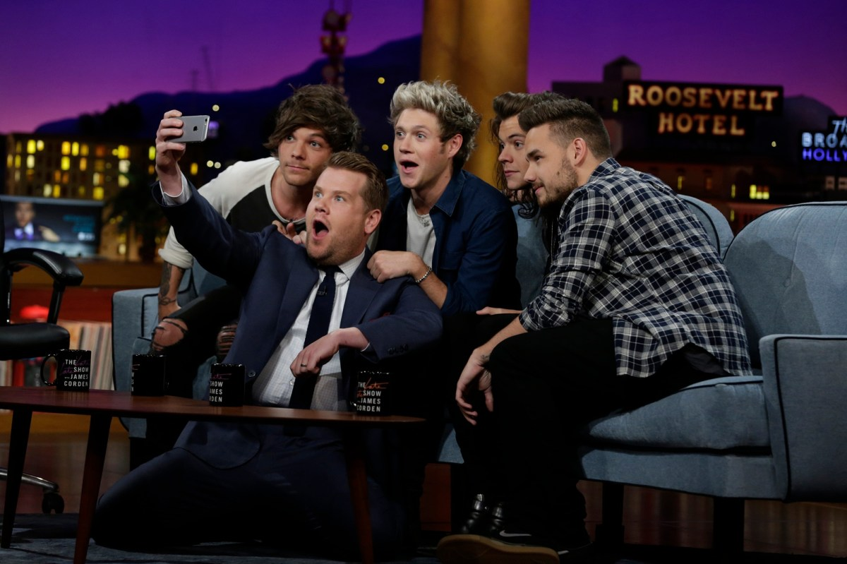 James Corden faces backlash from 'One Direction' fans over unaired footage