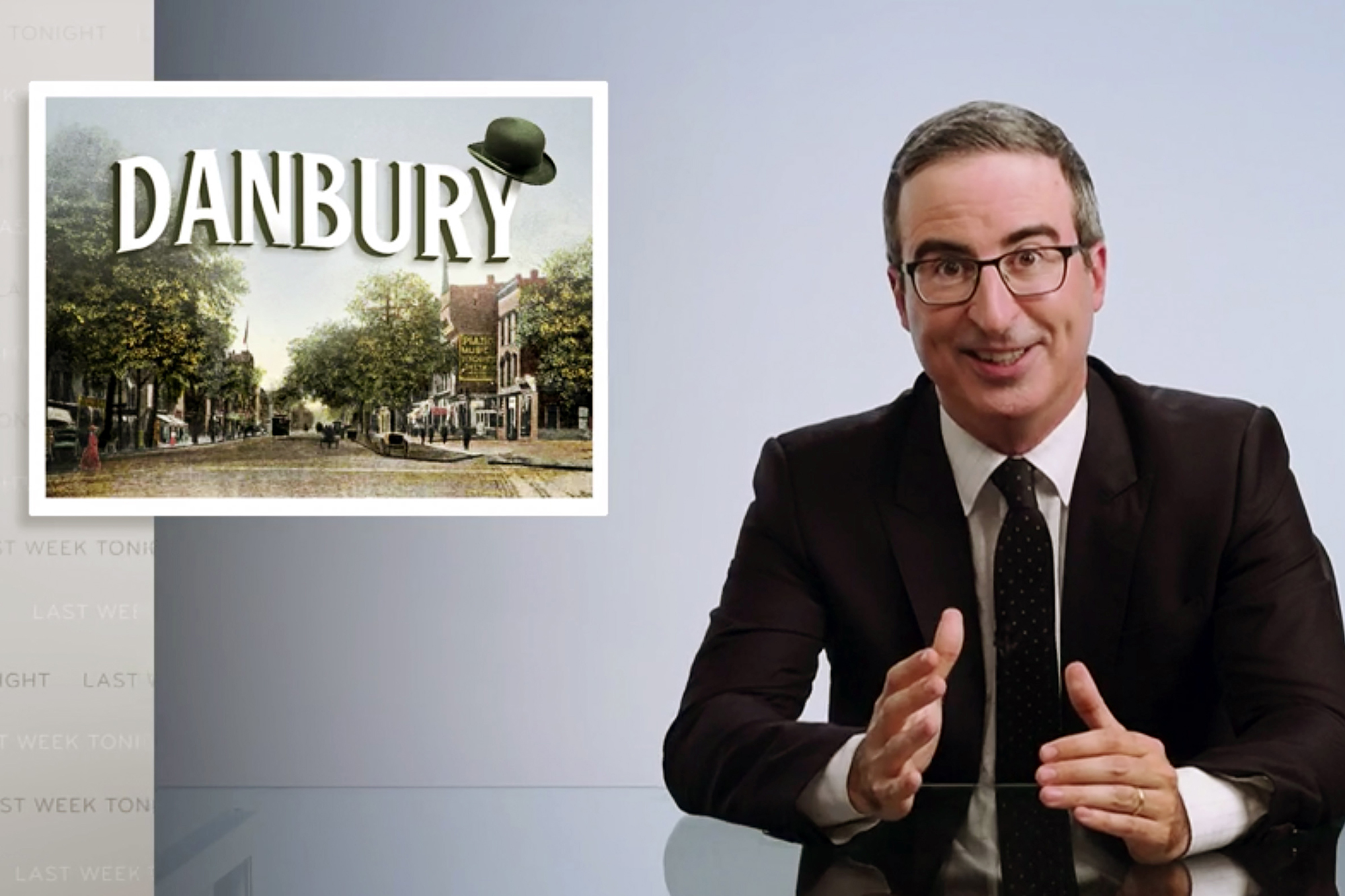 Danbury, CT officially named its sewage plant after John Oliver