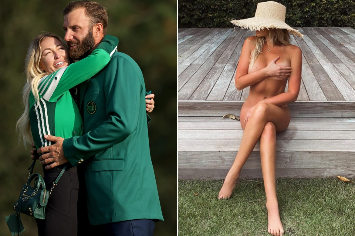 Paulina Gretzky caps off Masters party with a nude selfie 1