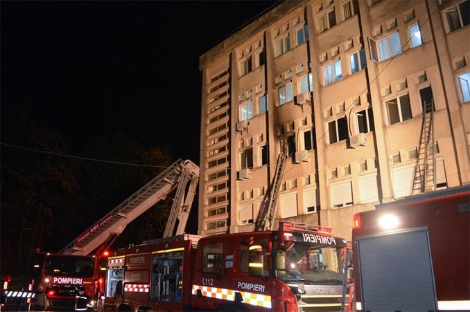 10 dead due to fire in a Romanian COVID-19 intensive care ward
