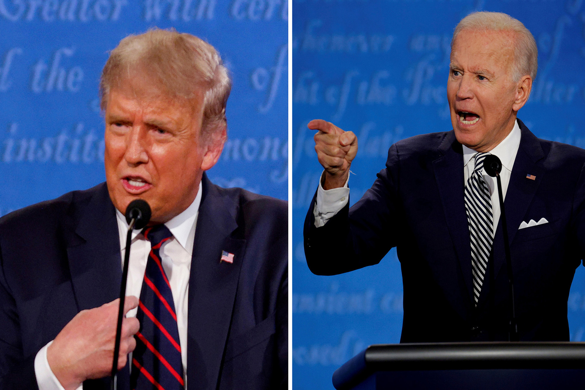 Trump tweets Biden 'won because the election was rigged'