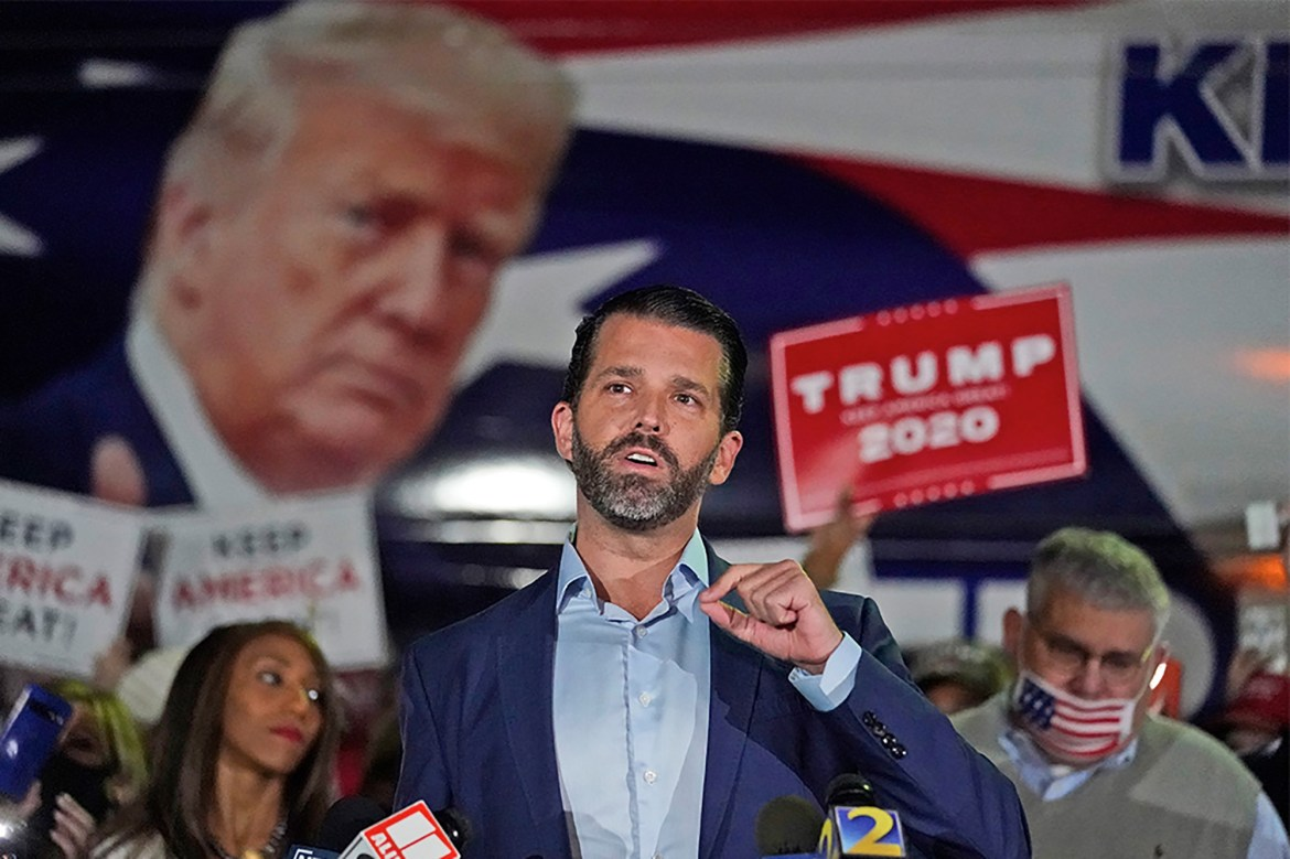 Donald Trump Jr. tests positive for COVID-19 1