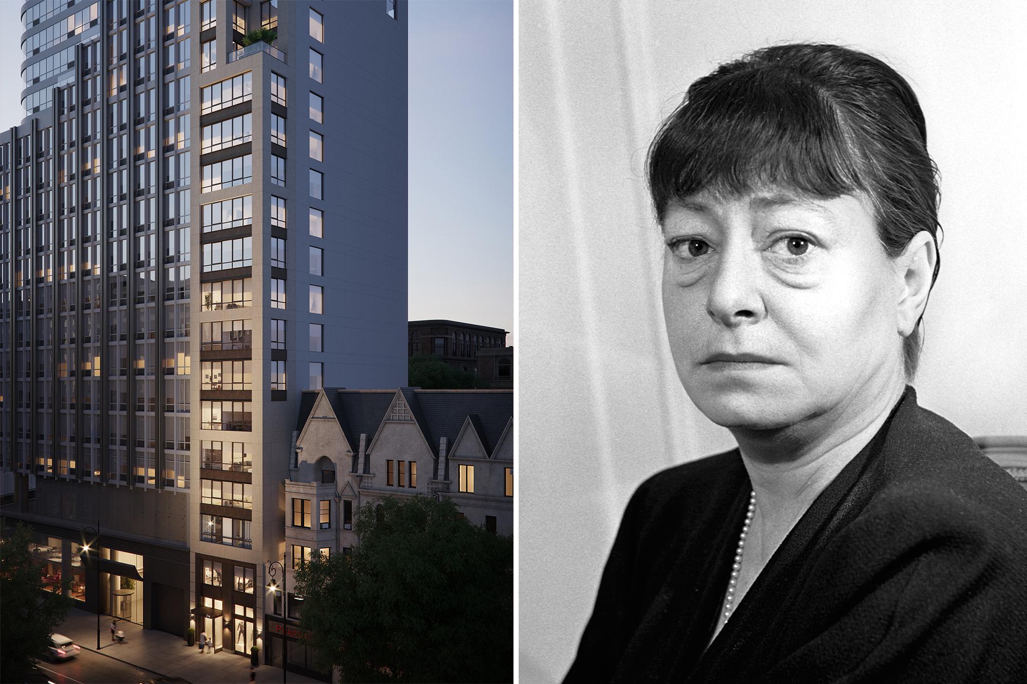 New Upper West Side condo building named after writer Dorothy Parker