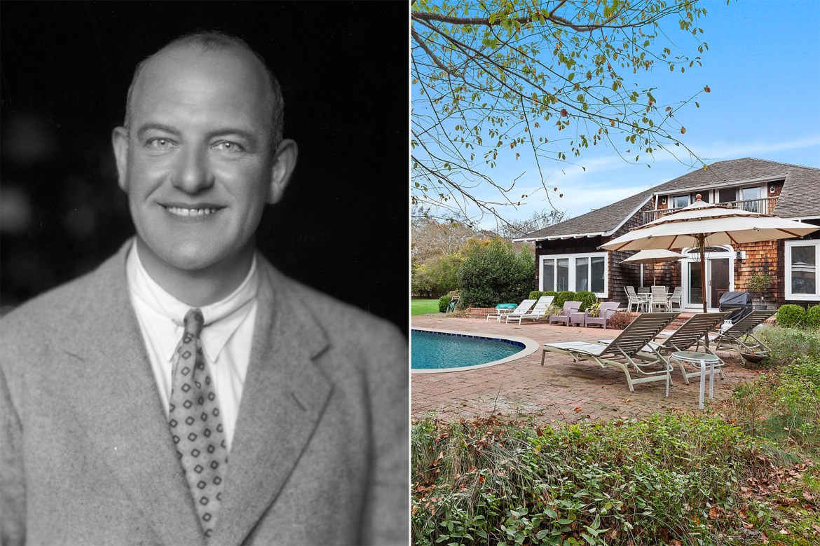 Hamptons estate of 'Jeeves' author P. G. Wodehouse asks $2.5M 1