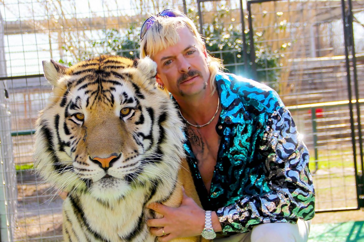 Zoo of former 'Tiger King' Joe Exotic vandalized with graffiti, rotting meat 1