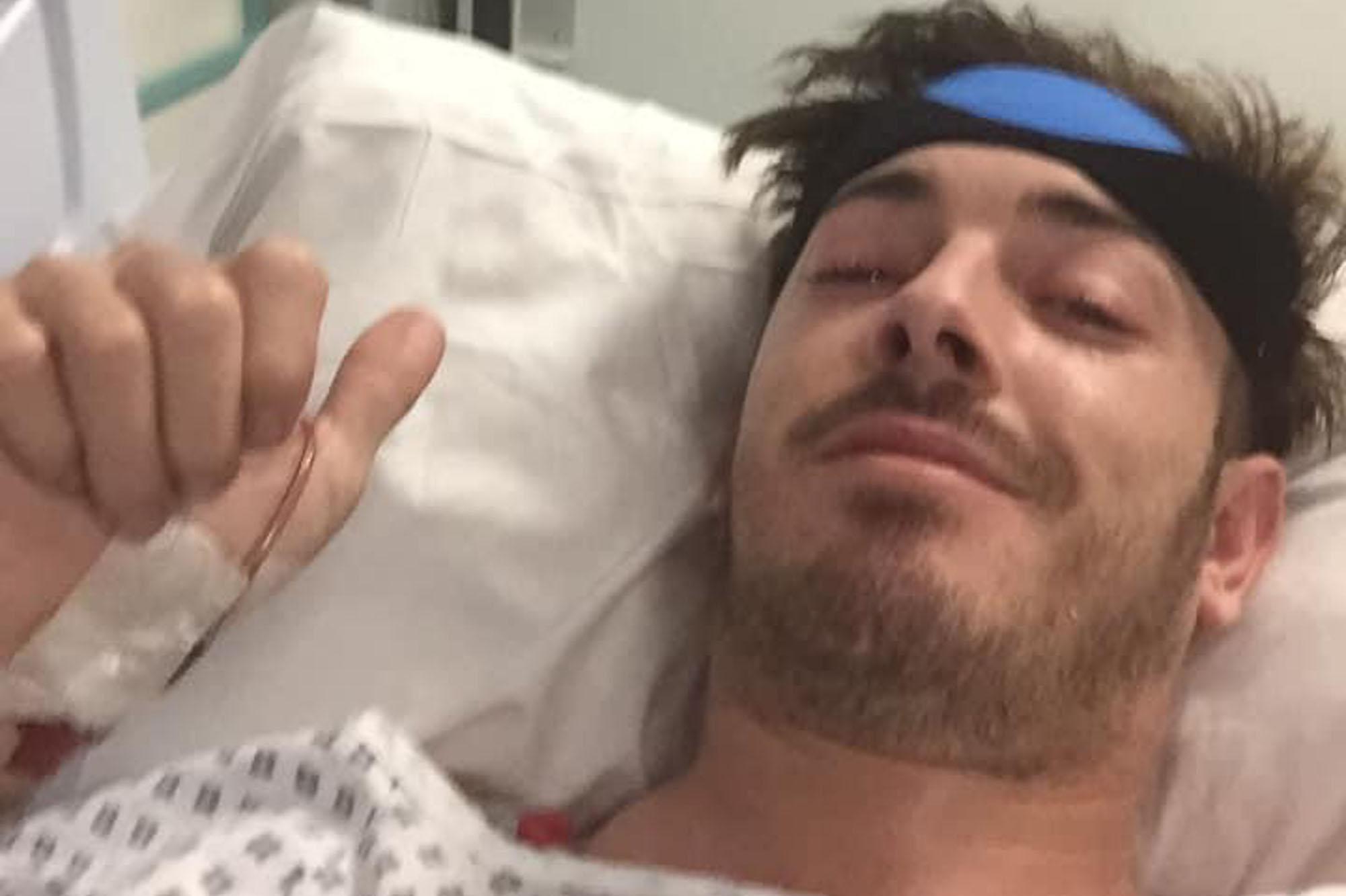 Hairdresser left paralyzed after freak mishap on trampoline