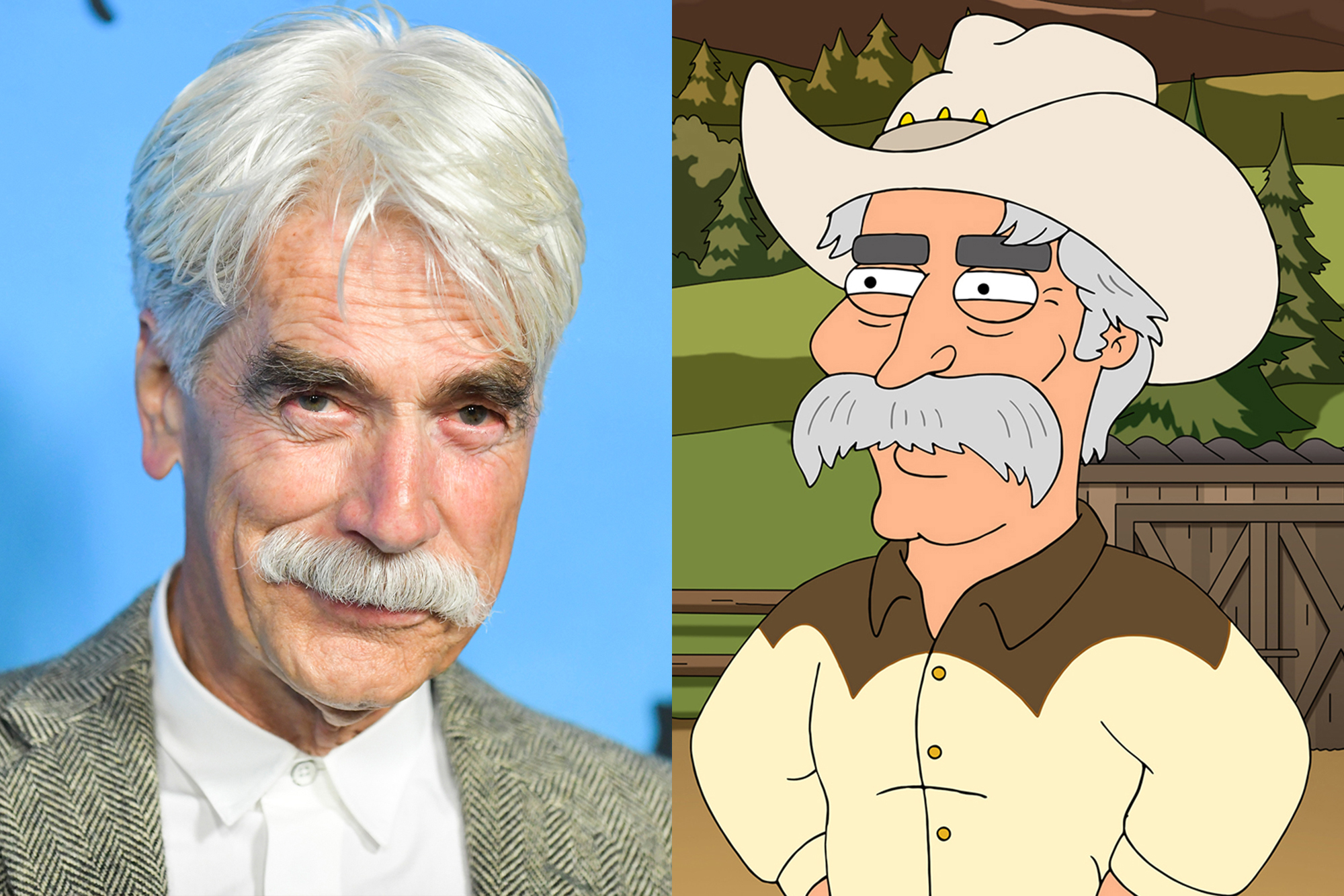 Sam Elliott joins 'Family Guy' as mayor