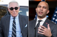Roger Stone vows to sue Rep. Hakeem Jeffries for defamation