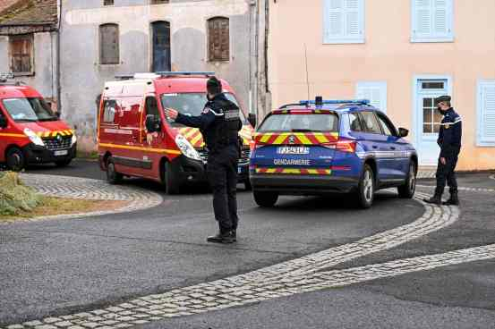 Three French police officers killed in response to a domestic violence call