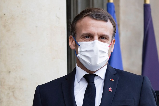 President Emmanuel Macron has tested positive for COVID-19