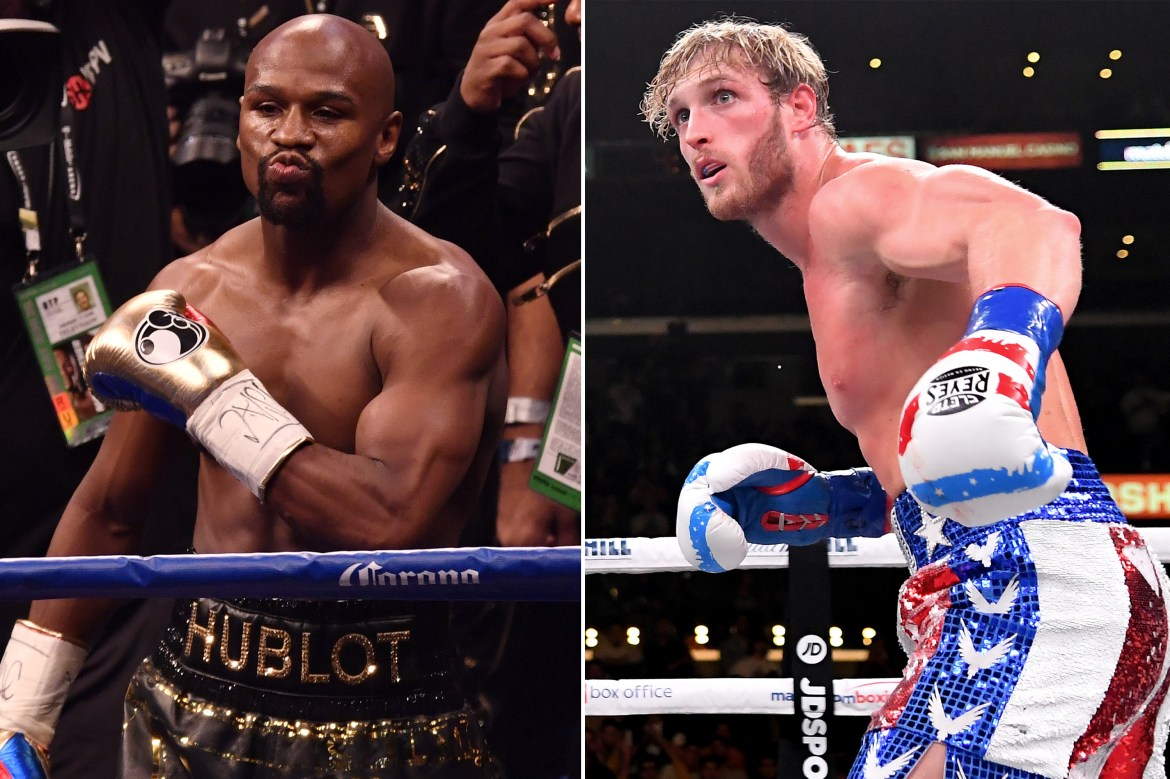Jake Paul says brother Logan is 'f–ked' in Floyd Mayweather fight 1