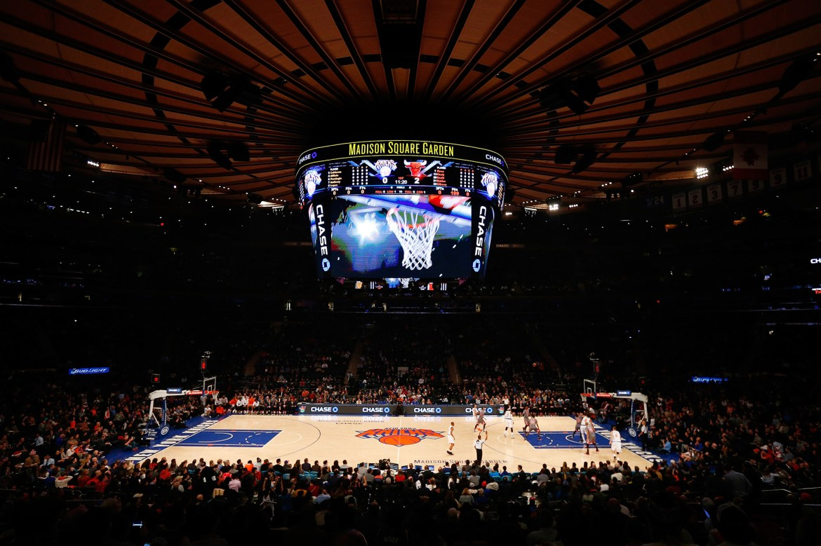 Knicks indefinitely banning media from MSG with notable exception 1