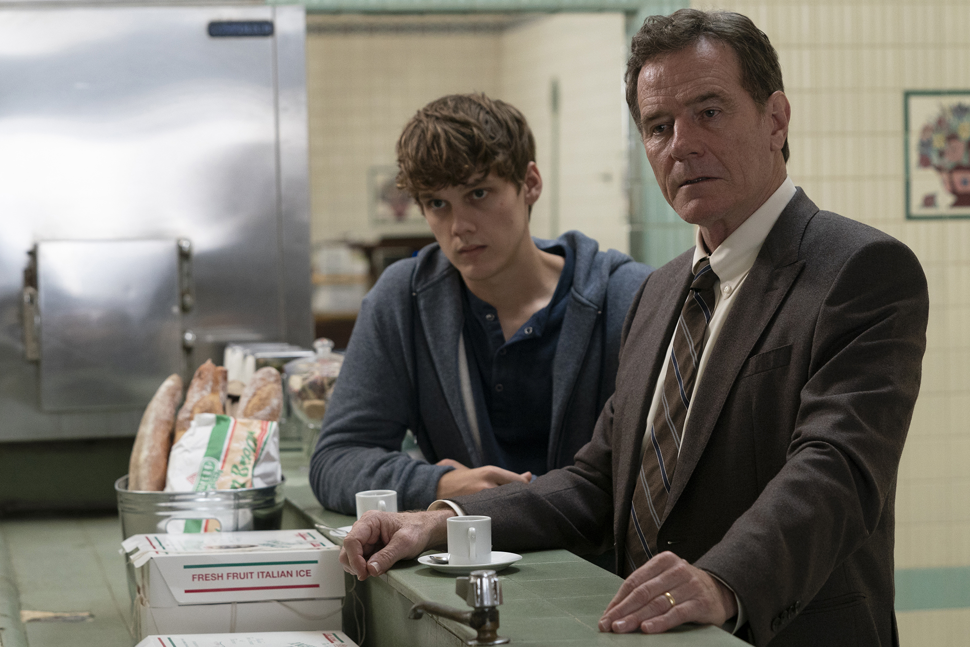 Hunter Doohan got close with Bryan Cranston on set of 'Your Honor'