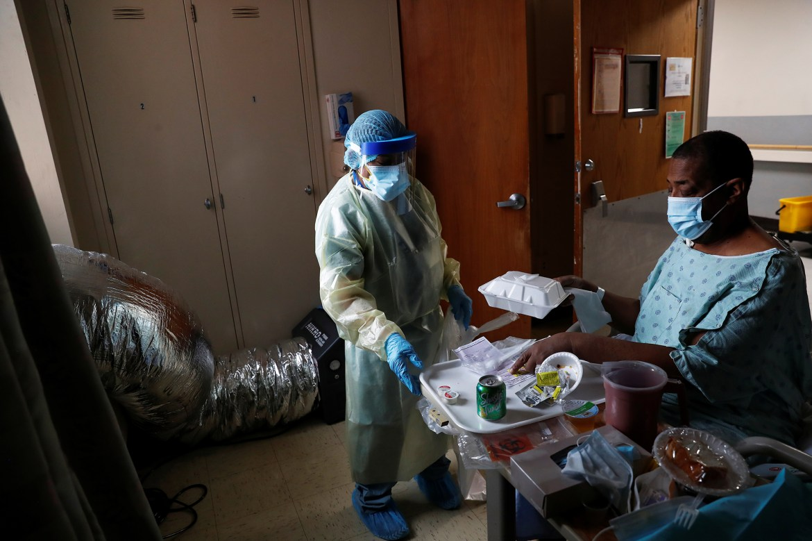 'The country needs me:' Cleaner in COVID-19 wards proud to fight pandemic 1
