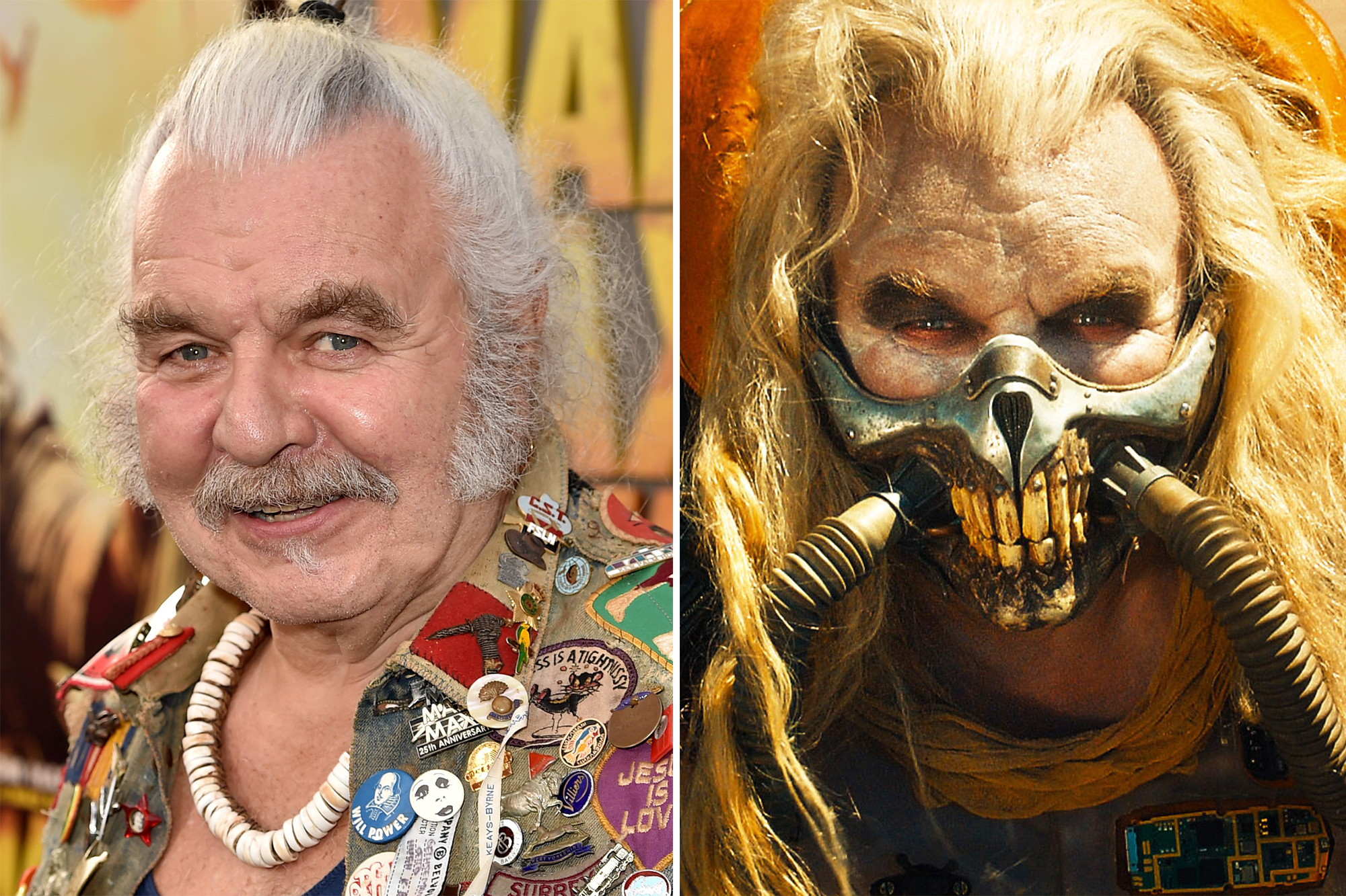 Hugh Keays-Byrne, two-time 'Mad Max' villain, dead at 73