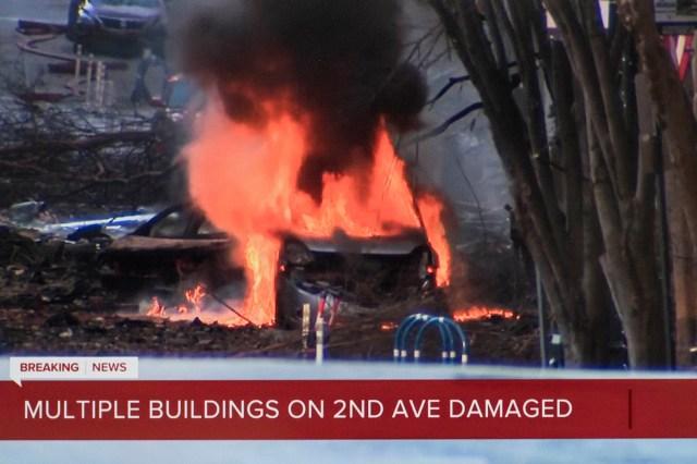 Massive Explosion in Downtown Nashville