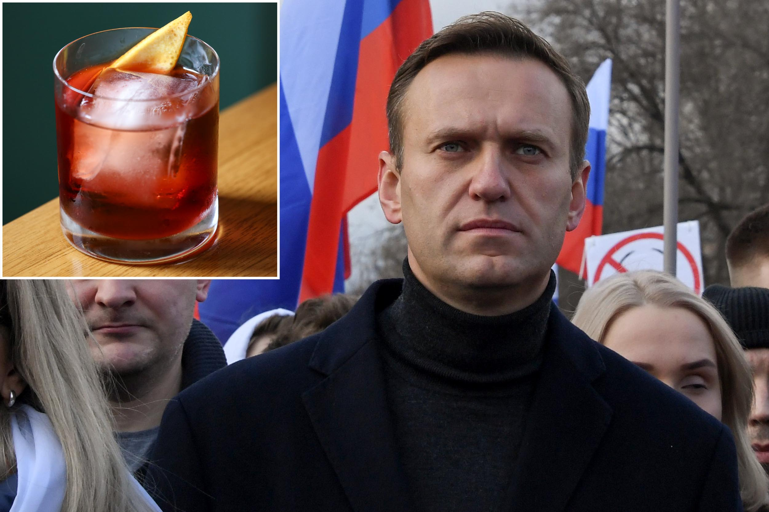 Russia tried to kill Alexei Navalny with a poisoned Negroni: probe