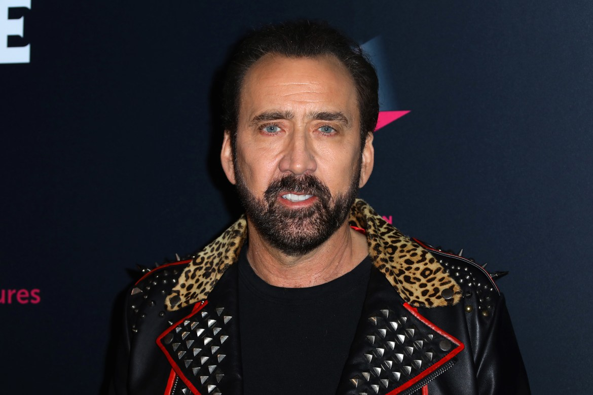 Nicolas Cage to star in 'proudly profane' series on the history of swear words 1