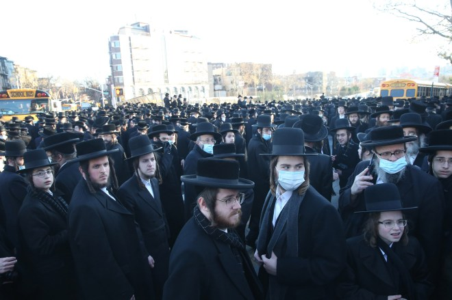 NYC City Hall failed to stop massive Satmar funeral