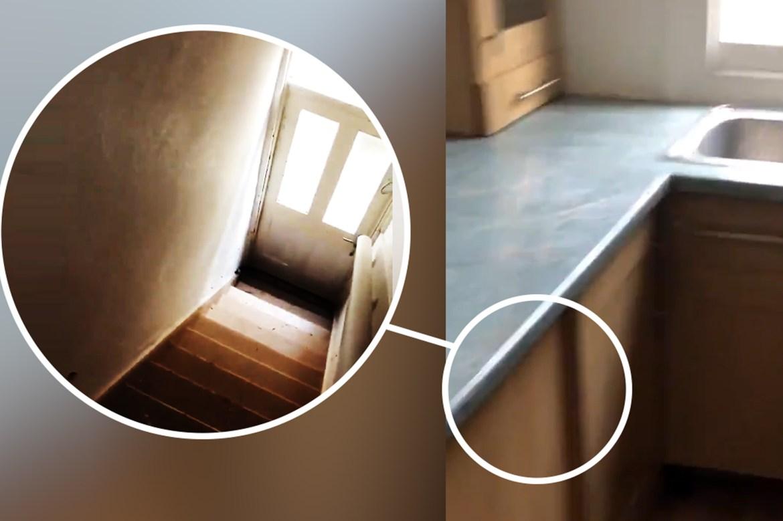 Weird backdoor is hidden under a kitchen counter 1