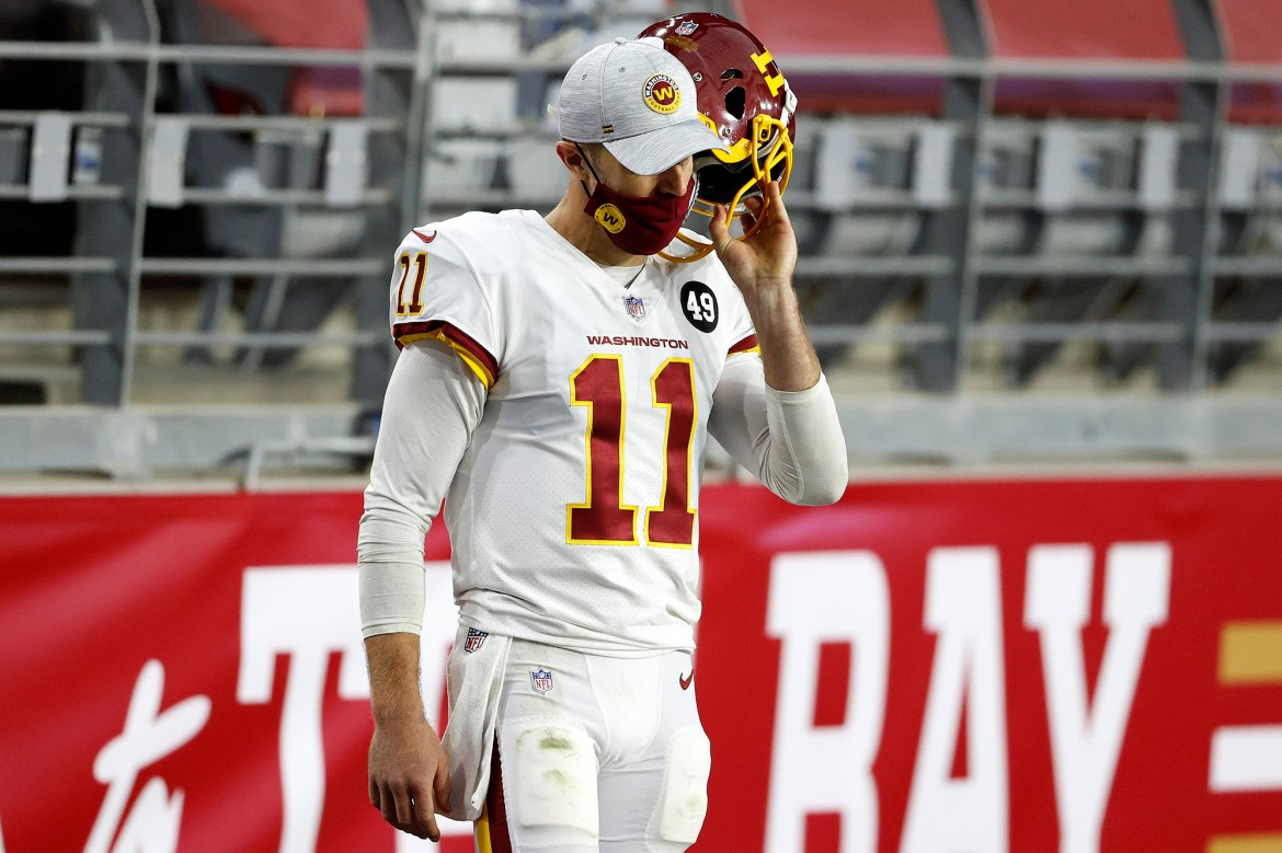 Alex Smith ruled out in Washington Football Team playoff nightmare 1