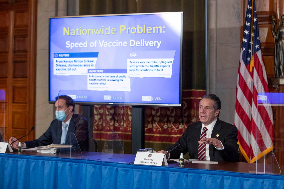 Quit the excuses — and get New Yorkers vaccinated 1