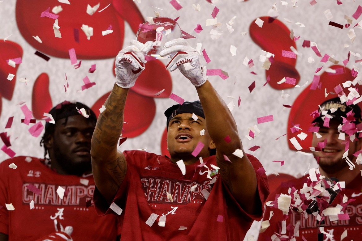 Alabama's DeVonta Smith made it clear early he couldn't be stopped 1