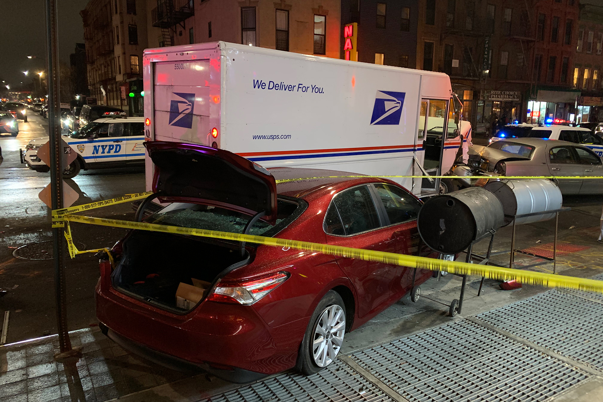 Woman accused of stealing NYC mail truck sent to mental hospital
