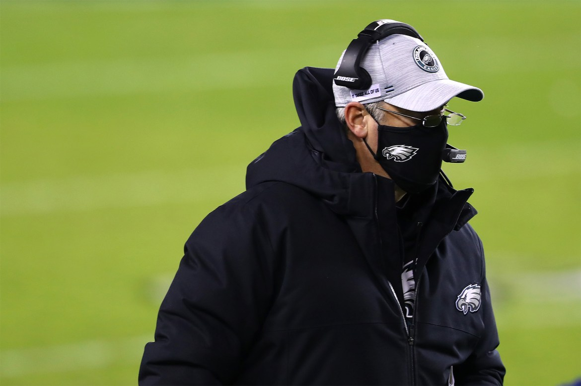 Angry Eagles players had to be restrained from confronting Doug Pederson 1