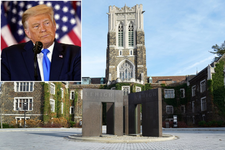 Lehigh University yanks honorary degree it gave to Trump in 1988 1