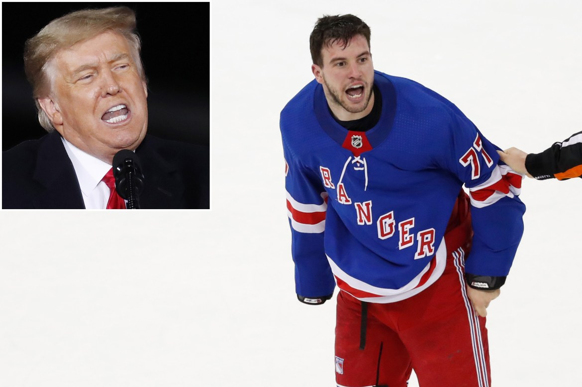 Rangers star Tony DeAngelo deletes Twitter account after Trump ban 1